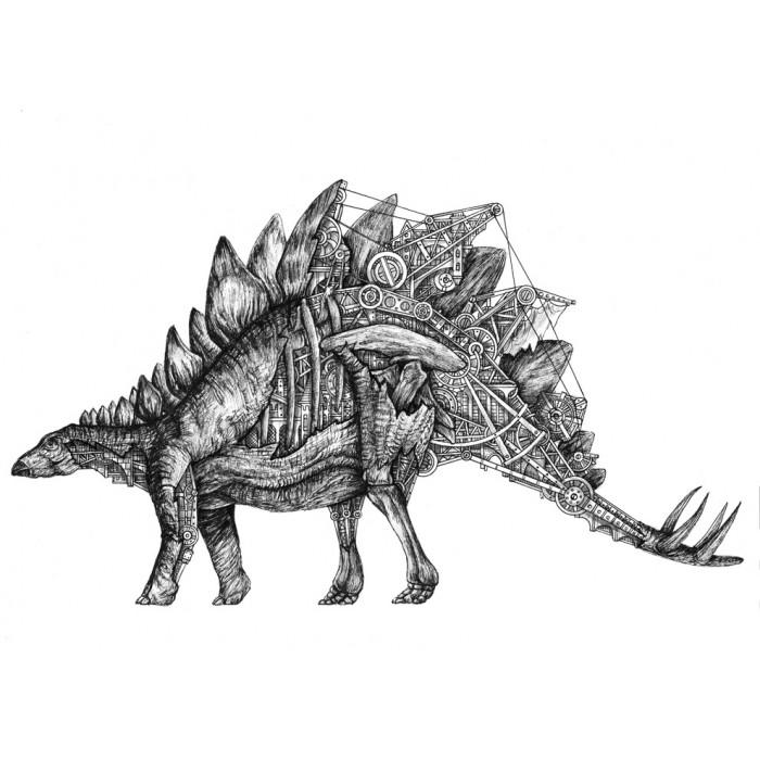 Stegosaurus mechanimal