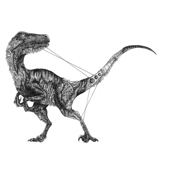 Velociraptor mechanimal