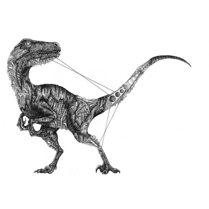 Velociraptor mechanimal