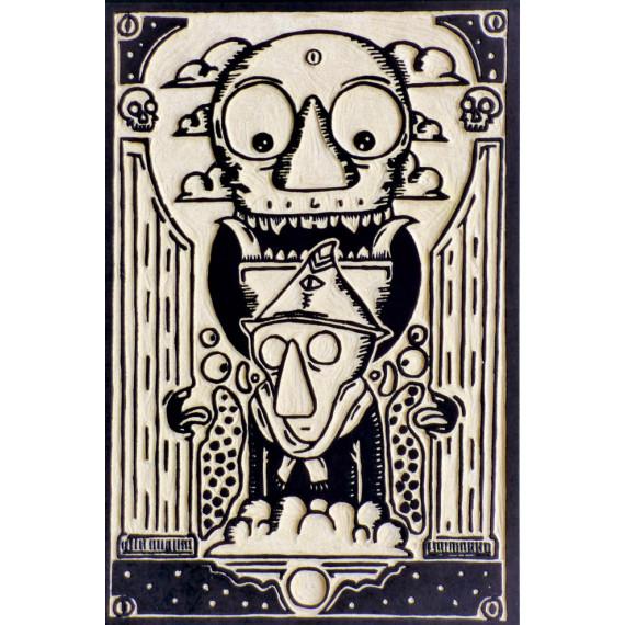 Rastoni - La Sociedad - Original plate ( unique work )