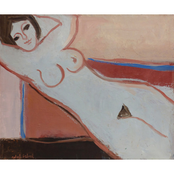 Nude in diagonal, 1985