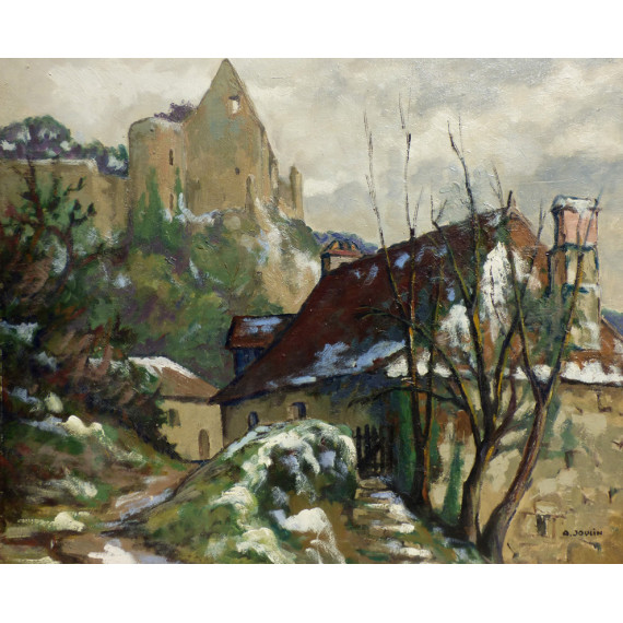Albert Joulin - Landscape of Vienne ( France )