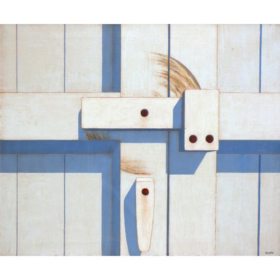 Le Verrou -patrick-heughe-peinture