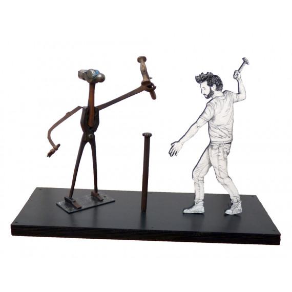 Sculpture - Être marteau avec ESTELLE BUBUT GAY