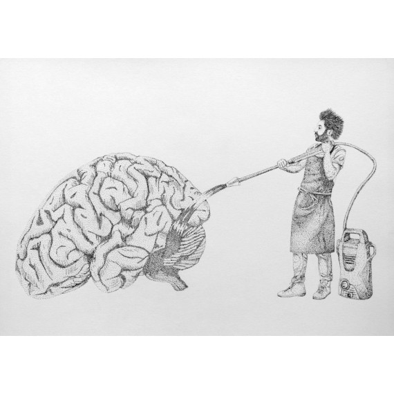 Drawing -  Brainwash