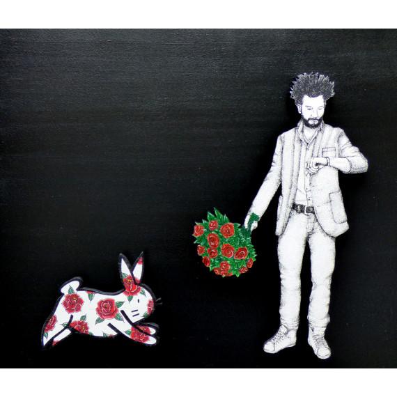 Poser un lapin avec AMI IMAGINAIRE