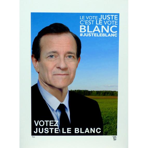 Votez Juste Le Blanc