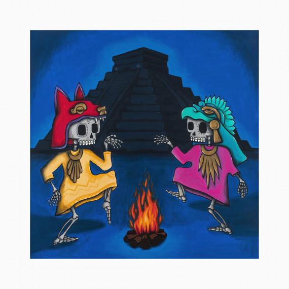 Limited edition - La danza del fuego