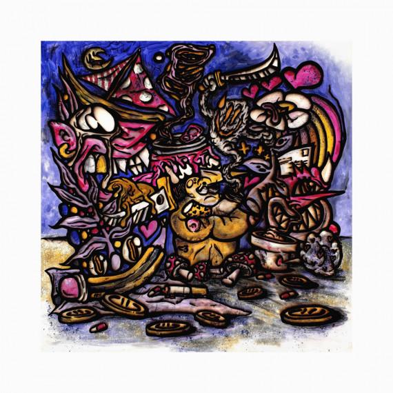 Édition limitée - Purple boy Alive BEBAR