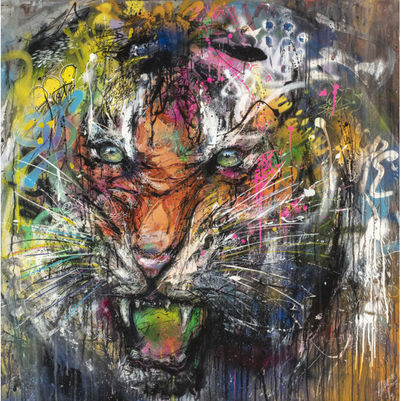 Painting -  Le Tigre