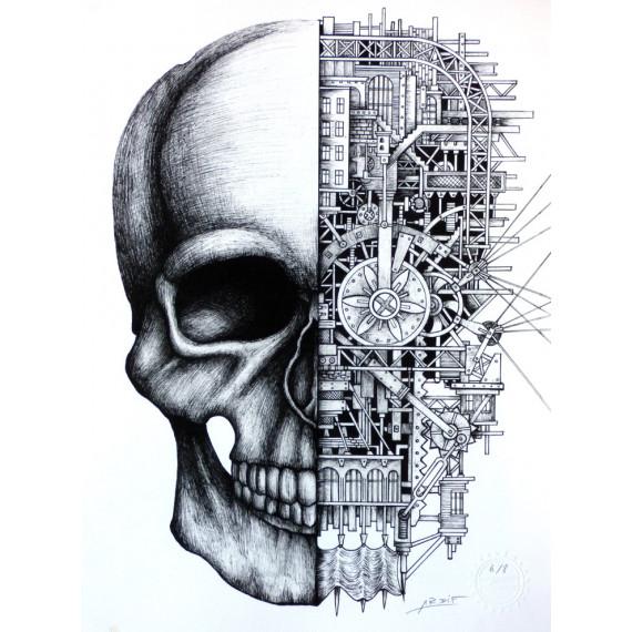 Le Crâne Mechanimal