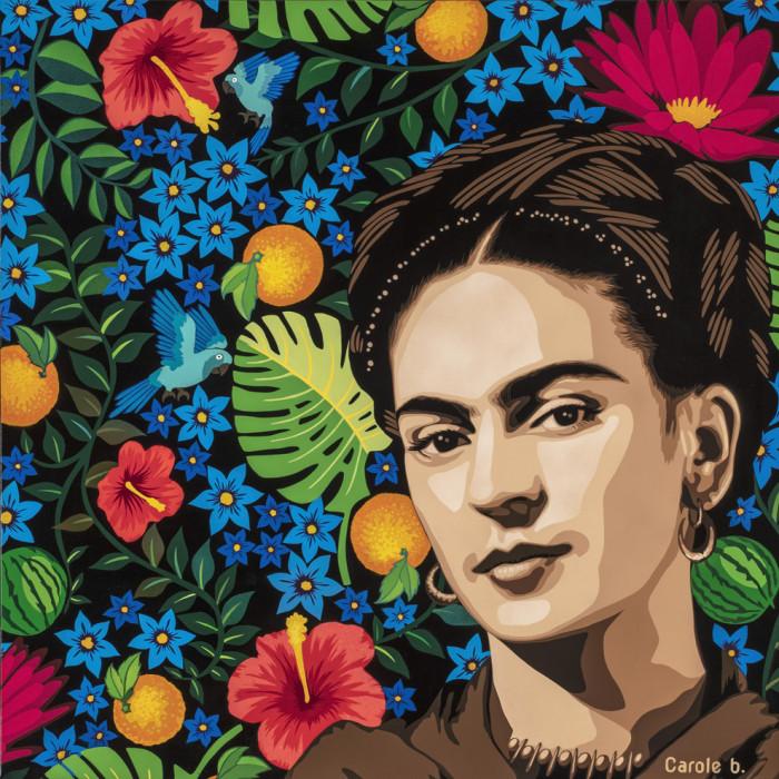Peinture - Viva la Frida