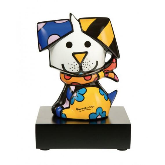 The Dog -sculpture-romero-britto