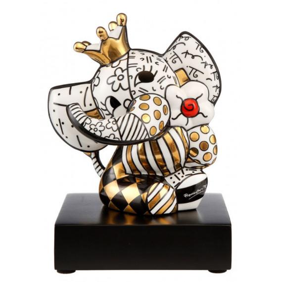 L'Éléphant Blanc et Or