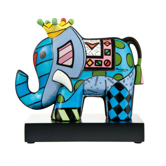 The Indian Elephant with the Crown