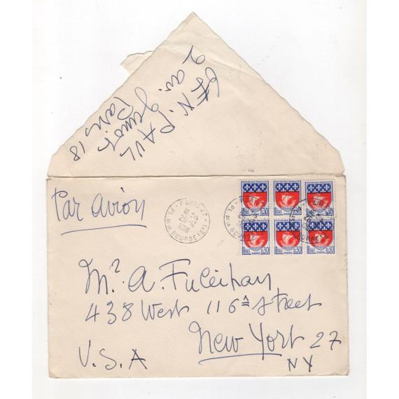 LETTRE - ENVELOPPE 26 décembre 1966