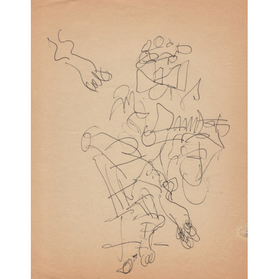 Foot Study, The Clown Guitarist with socks