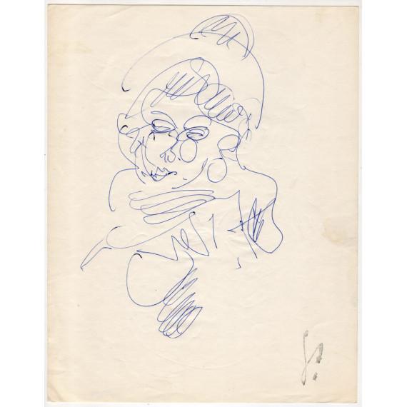 Portrait de jeune femme au chapeau gen-paul