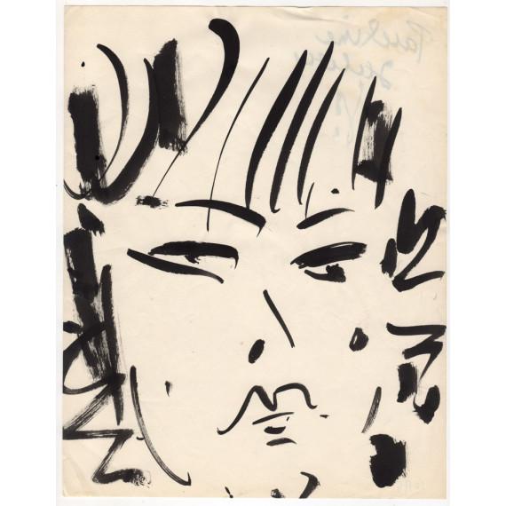 Portrait de femme, Pauline Julien -gen-paul-