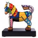 Le petit cheval -sculpture-romero-britto