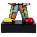 Un petit calin -sculpture-romero-britto