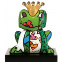 The charming prince -sculpture-romero-britto