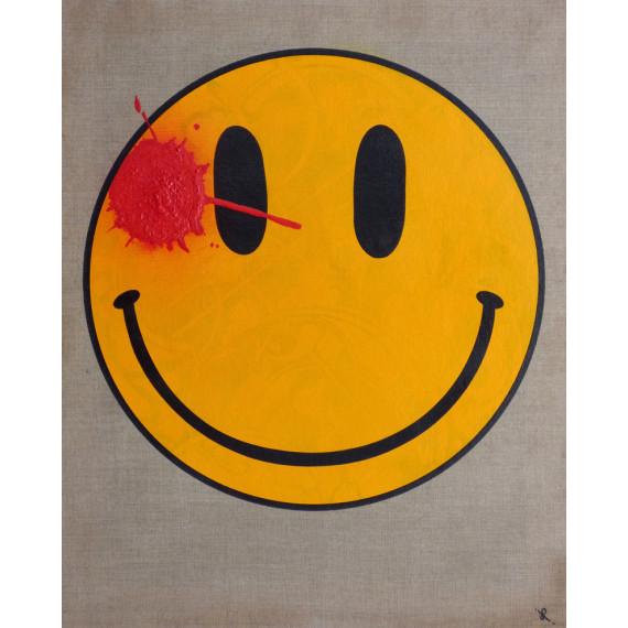 Le smiley taché de sang des Watchmen