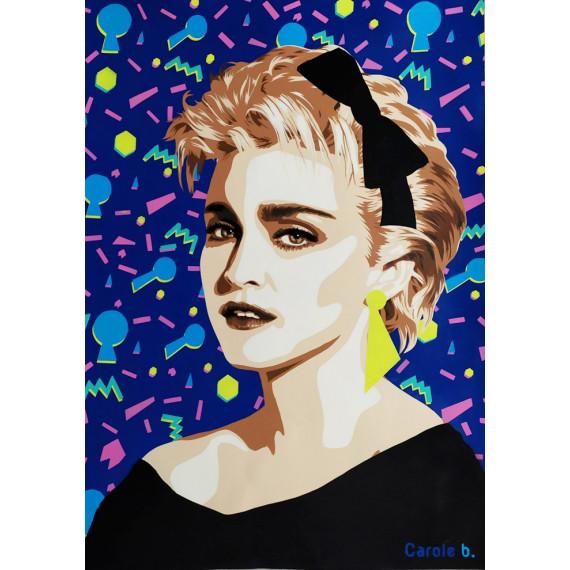 La Madone ( Portrait of Madonna )