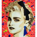La Madone ( Portrait de Madonna ) n°3