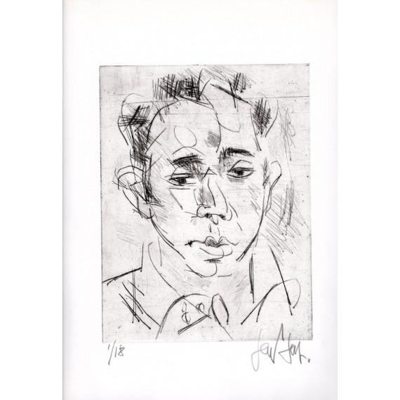 Gravure - Portrait d'homme - N°1