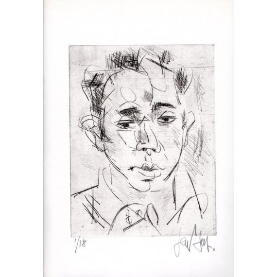 Etching - Portrait of a man - N°1