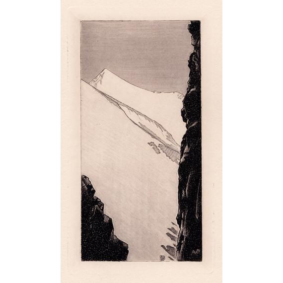 Édouard Monod-Herzen - Brèche dans la crète des Felouses