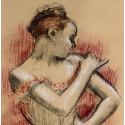 La Ballerine se remettant une bretelle (d'après Degas)