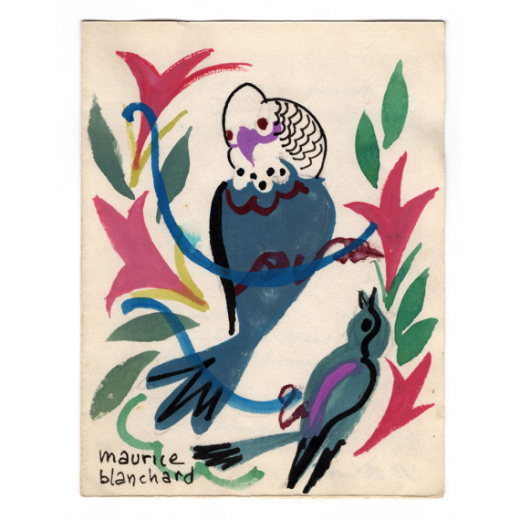 Maurice Blanchard - Parrot - 1958
