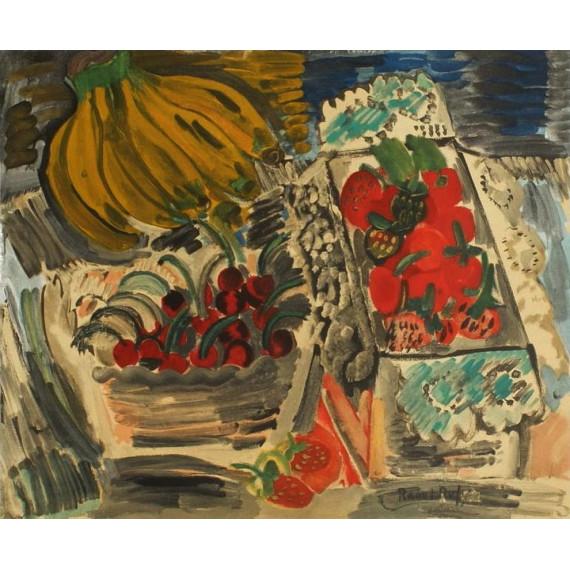 Raoul Dufy - Composition aux bananes