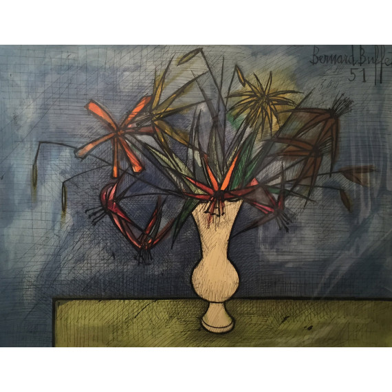 Bernard Buffet - Le Vase