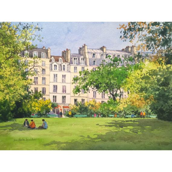 Jardins à Paris