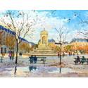 Place  Saint-Sulpice à Paris