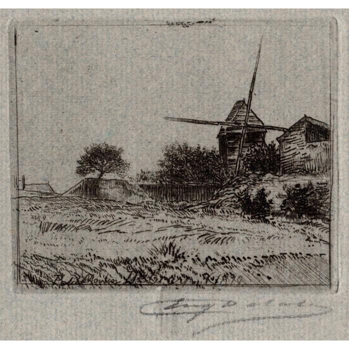 Le petit moulin Debray 1879