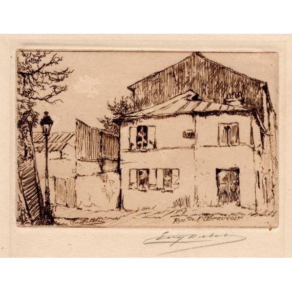 La Maison Rose Rue de l'Abreuvoir à Montmartre