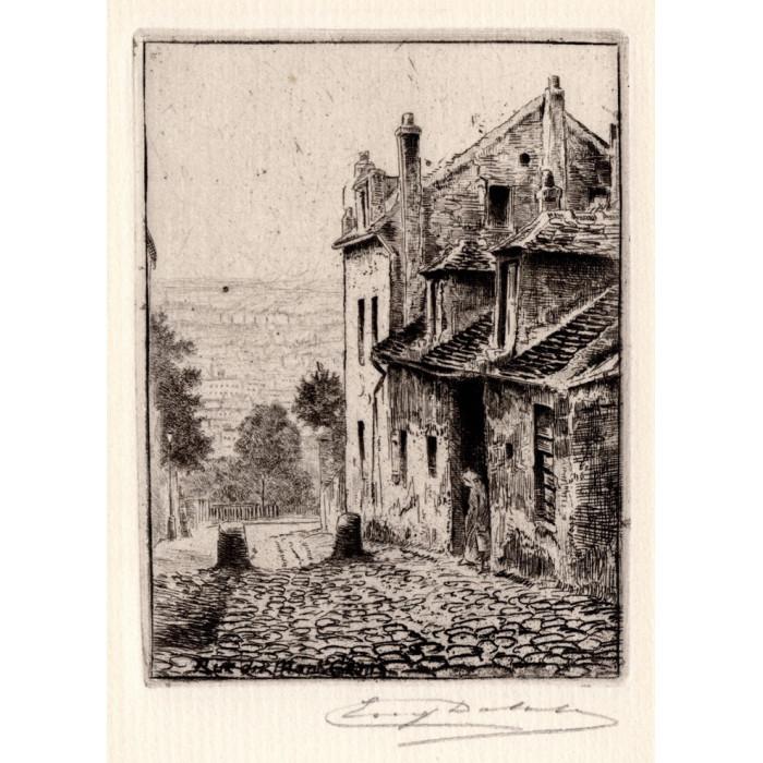 La Maison de Mimi Pinson rue du Mont Cenis à Montmartre