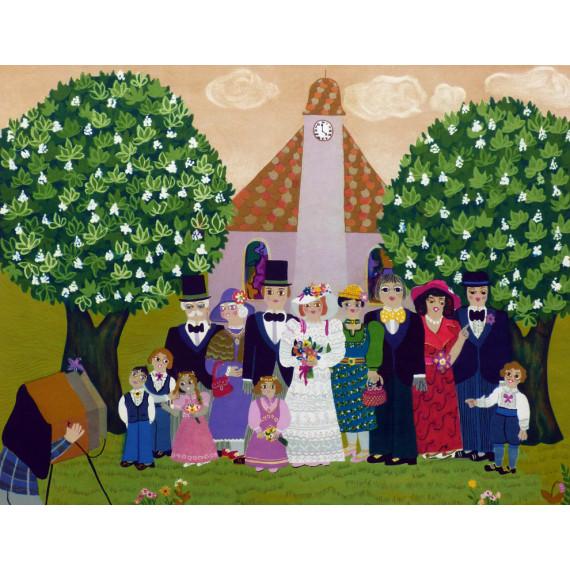 Josette BARDOUX - The country wedding