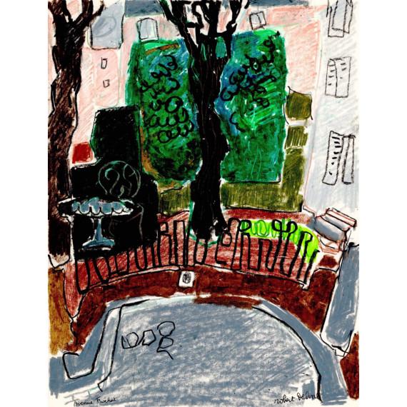 Avenue Frochot, 1974