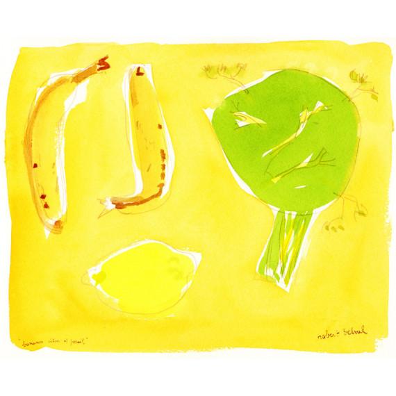 Bananes, citron et persil, 1991