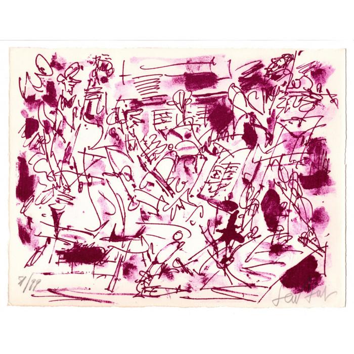 Lithographie - Le quatuor