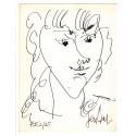 Lithographie - Portrait de Lola -gen-paul