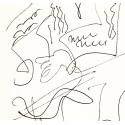 Lithographie - Portrait -gen-paul