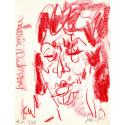 Lithographie - Portrait Marian Anderson-gen-paul