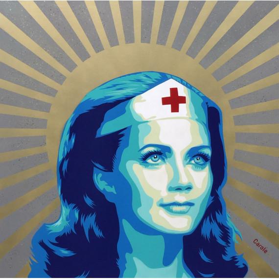 Wonder Woman infirmière