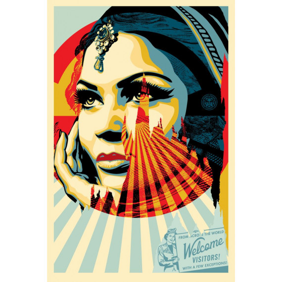 American dream -lithograph-shepard-fairey-obey